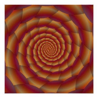 Spirale Browns Snakeskin Fotos