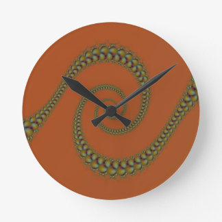 Spirale, zum sich zu winden Wanduhr