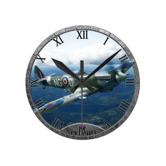Spitfire-Uhr Runde Wanduhr