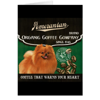 Spitz-Marke - Organic Coffee Company Grußkarte