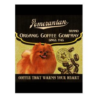 Spitz-Marke - Organic Coffee Company Postkarte