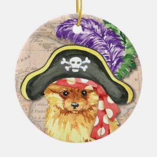 Spitz-Pirat Keramik Ornament
