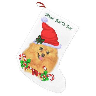 Spitz-Weihnachten Kleiner Weihnachtsstrumpf