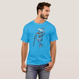 Spitze des Deckel-T-Stücks T-Shirt