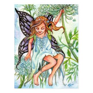 Spitze-Fee der Königin-Anne Postkarte