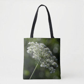 Spitze-weiße Wildblume-Taschen-Tasche der Tasche