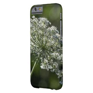 Spitze-weißer Wildblume Smartphone Kasten der Barely There iPhone 6 Hülle