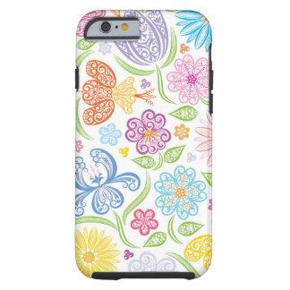 Spitzen- Blumenmuster iPhone 6 Fall Tough iPhone 6 Hülle