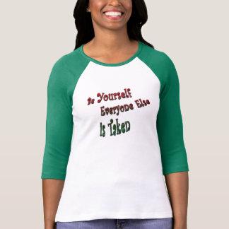 Spitzen mit Haltung T-Shirt