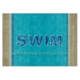 SPITZENSchwimmen Schneidebrett