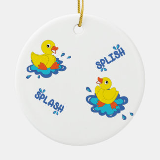 Splish Spritzen Keramik Ornament