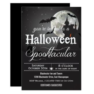 Spooktacular Halloween Kostüm-Party 12,7 X 17,8 Cm Einladungskarte