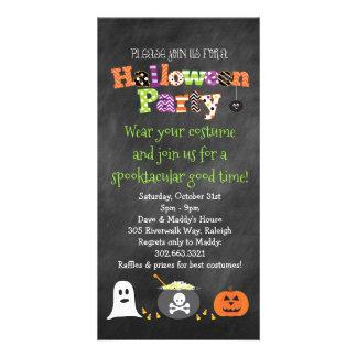Spooktacular Halloween-Party-Tafel-Einladung Karte