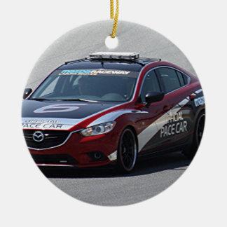 Sport-Auto-Auto-Laufen Keramik Ornament