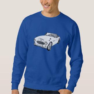 Sport-Auto-Illustration Austin Healeys 300 Sweatshirt