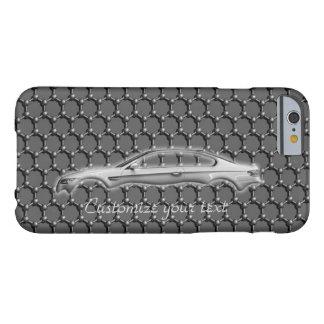 Sport-Auto-Kohlenstoff-Faser fertigen Text Aston Barely There iPhone 6 Hülle
