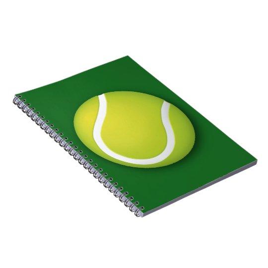 Sport-Geschenk des Tennis-| Spiral Notizblock