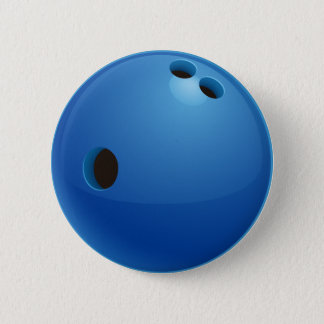 Sport-Geschenke des Bowlings-| Runder Button 5,7 Cm