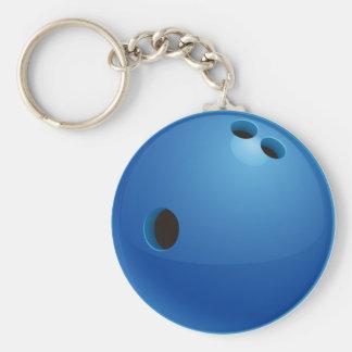 Sport-Geschenke des Bowlings-| Standard Runder Schlüsselanhänger