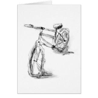 Sport-Kunst, die Fahrrad II zeichnet Karte