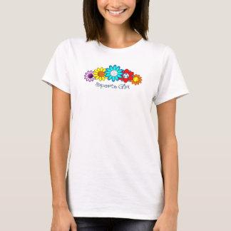 Sport-Mädchen - Volleyball T-Shirt