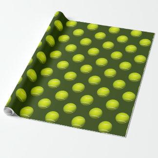 Sport-Party-Tennisthema Geschenkpapier