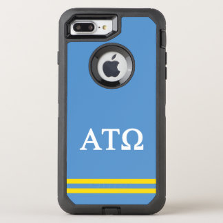 Sport-Streifen AlphaTau Omega | OtterBox Defender iPhone 7 Plus Hülle
