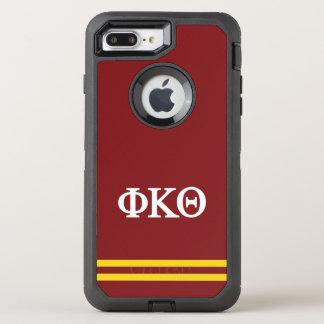 Sport-Streifen des Phi-Kappa-Theta-  OtterBox Defender iPhone 7 Plus Hülle