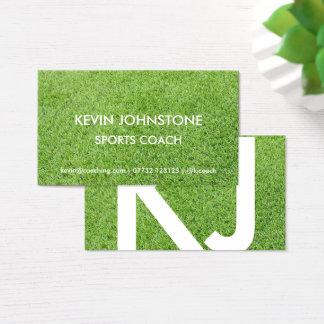 Sport-Trainer-Visitenkarte (Gras) Visitenkarte