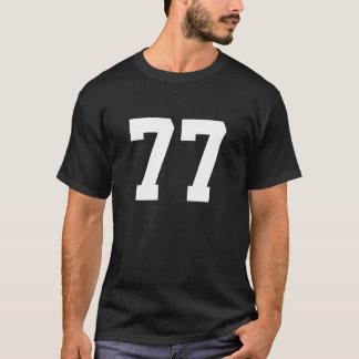 Sports numéro 77 t-shirt