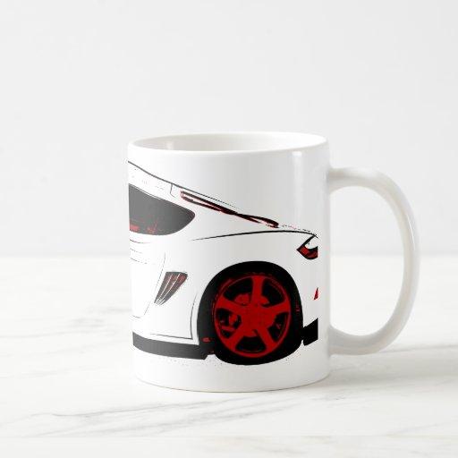 Sportwagen Tee Tassen
