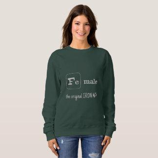 Sportwortspieleisenelement F.E.-Mann Sweatshirt