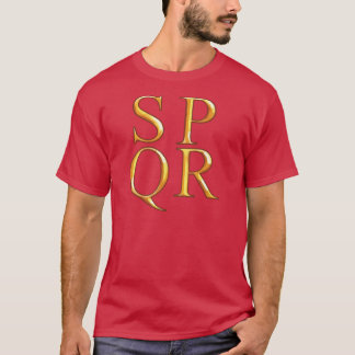 SPQR Grafik-T - Shirt