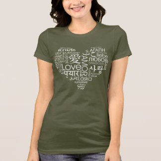 Sprachen des Liebe-Herzens T-Shirt