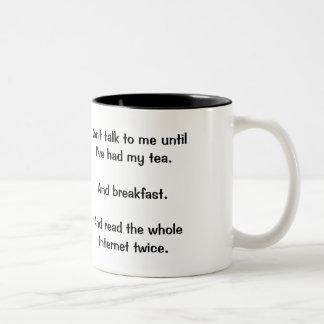 """""""Sprechen Sie nicht mit mir"""" Tasse"""