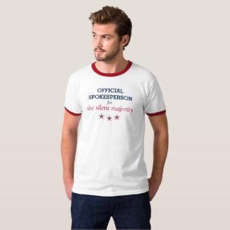 Sprecher für das schweigende Mehrheit T-Shirt