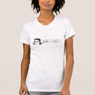 Sprengen Sie ein Bewegungraglan-T-Stück T-Shirt