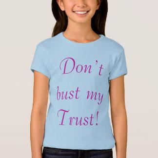 Sprengen Sie nicht mein Vertrauens-Shirt T-Shirt