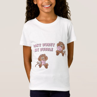 Sprengen Sie nicht meine Blasen-Affen T-Shirt