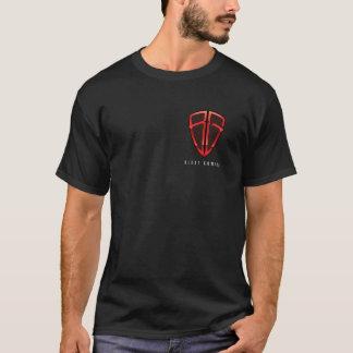 Sprengen Sie Spiel-Logo-vorderes/hinteres der T-Shirt