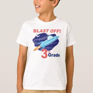 Sprengen Sie weg 3. Grad T-Shirt