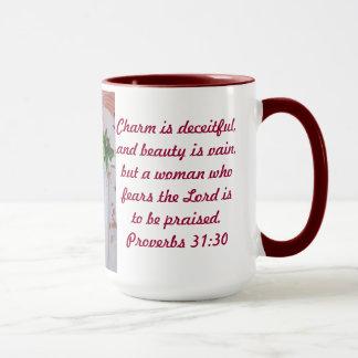Sprichwort-31:30 der Tassen-MDT Tasse