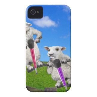 Springende Schafe iPhone 4 Case-Mate Hülle