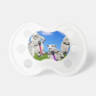 Springende Schafe Schnuller