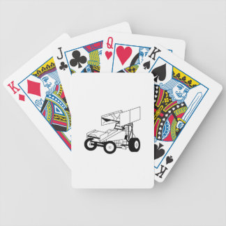 Sprint-Auto-Kontur Poker Karten