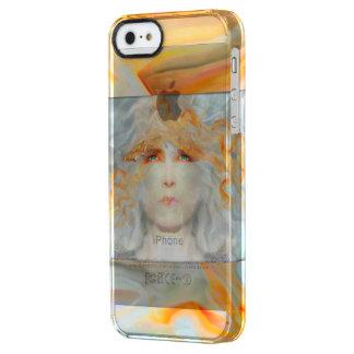 Spritzen der Farbe bilden Kunst-Fantasie Durchsichtige iPhone SE/5/5s Hülle