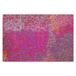 Spritzen von Farben Seidenpapier