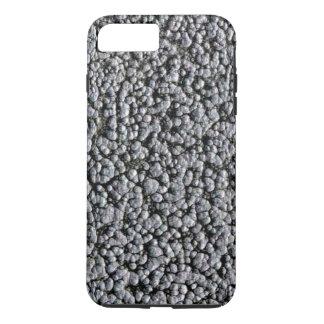 SPRUDELNDES STAHL (ein metallischer schauender iPhone 8 Plus/7 Plus Hülle