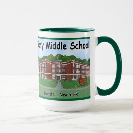Spry mittlere SchulTasse Tasse