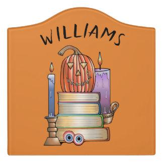 Spuk Bibliothek Türschild